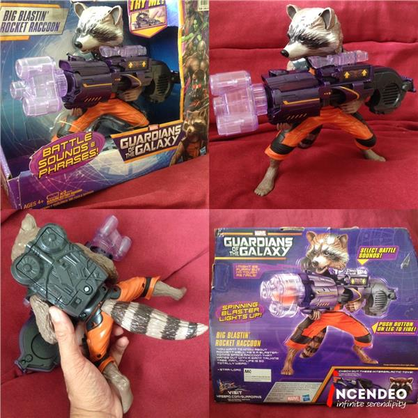 **incendeo** - HASBRO Marvel Guardians of the Galaxy Rocket Raccoon