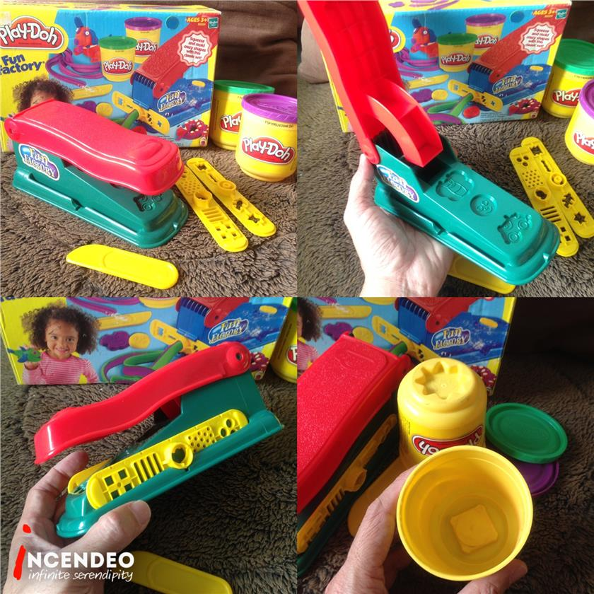 **incendeo** - Hasbro Play-Doh Fun Factory Play Set