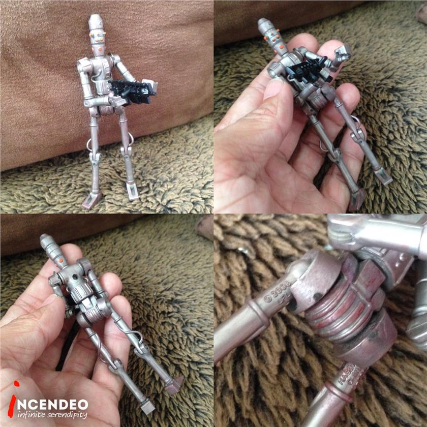**incendeo** - HASBRO Star Wars Clone Wars IG-86 Assassin Droid (2008)