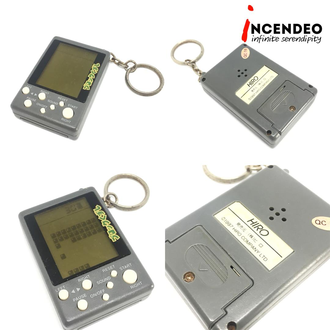 **incendeo** - HIRO Japan LCD Keychain Series Game, Block Kuzushi 1997