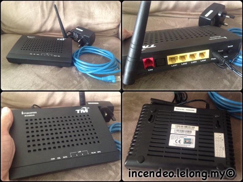 **incendeo** - innacomm TM ADSL2+ Wireless Router W3400V