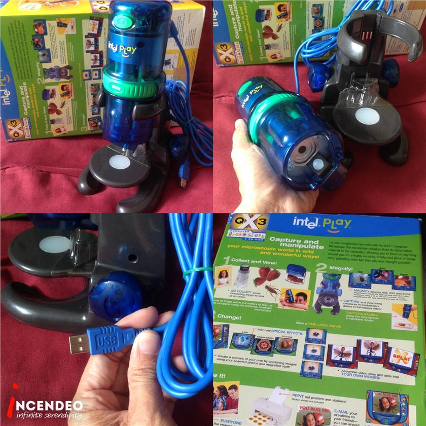 **incendeo** - intel Play QX3 USB Digital Microscope
