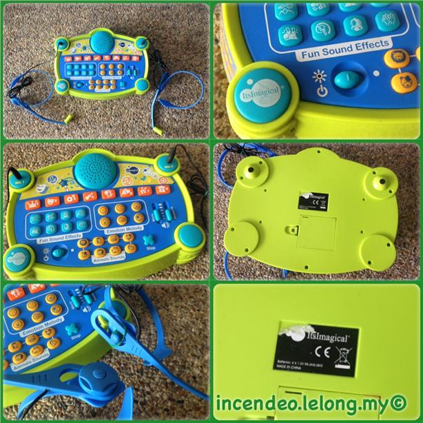 **Incendeo** - ITSIMAGICAL DJ Fun Sound Effects Mixer for Kids