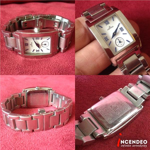**incendeo** - JB J.Bovier Stainless Steel Quartz Watch for Ladies
