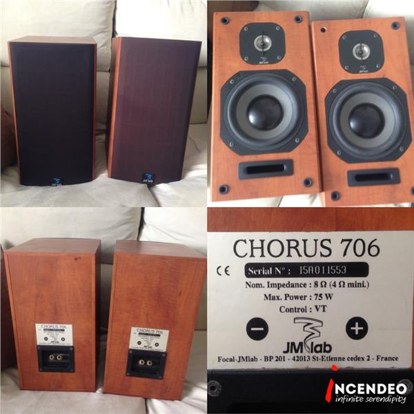 **incendeo** - JMlab France Chorus 706 Audiophile Bookshelf Speakers