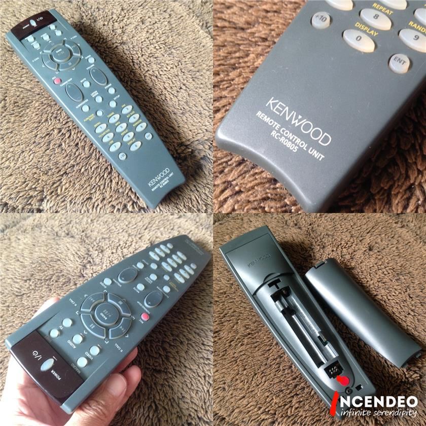 **incendeo** - KENWOOD AV Remote Control RC-R0805