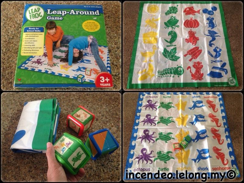 **incendeo** - LEAP FROG Leap-Around Game for Kids