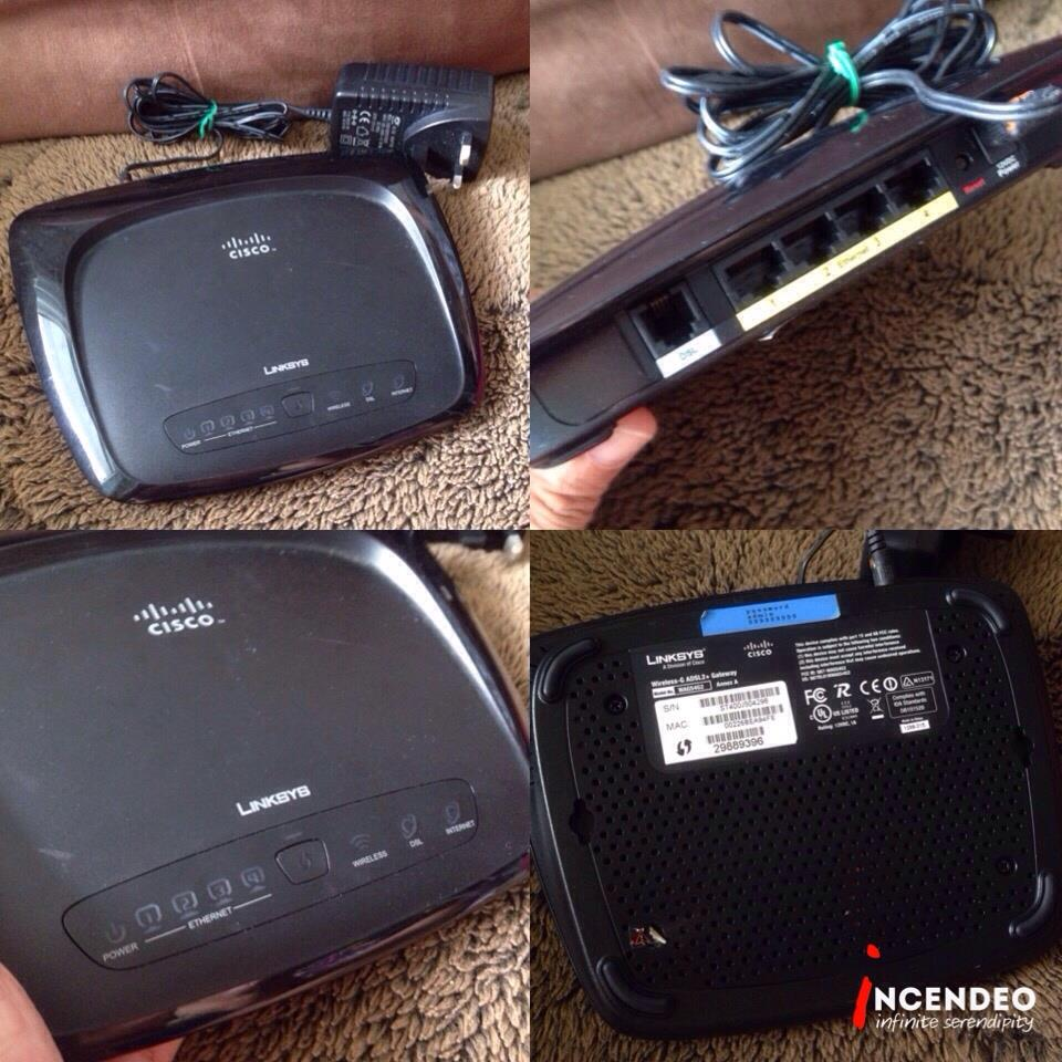**incendeo** - LINKSYS CISCO Wireless-G ADSL2+ Gateway WAG54G2