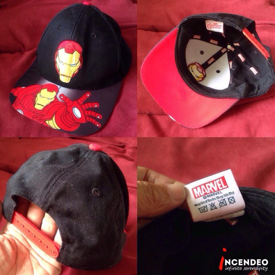 **incendeo** - MARVEL Ironman Cap for Kids