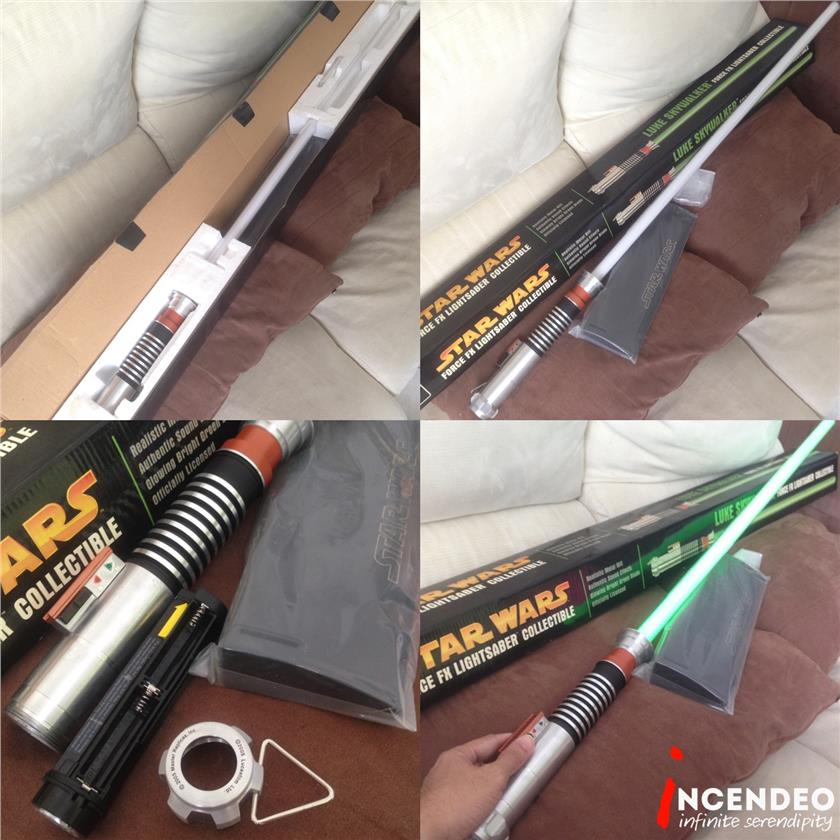**incendeo** - MASTER REPLICAS Luke Skywalker ForceFX Lightsaber