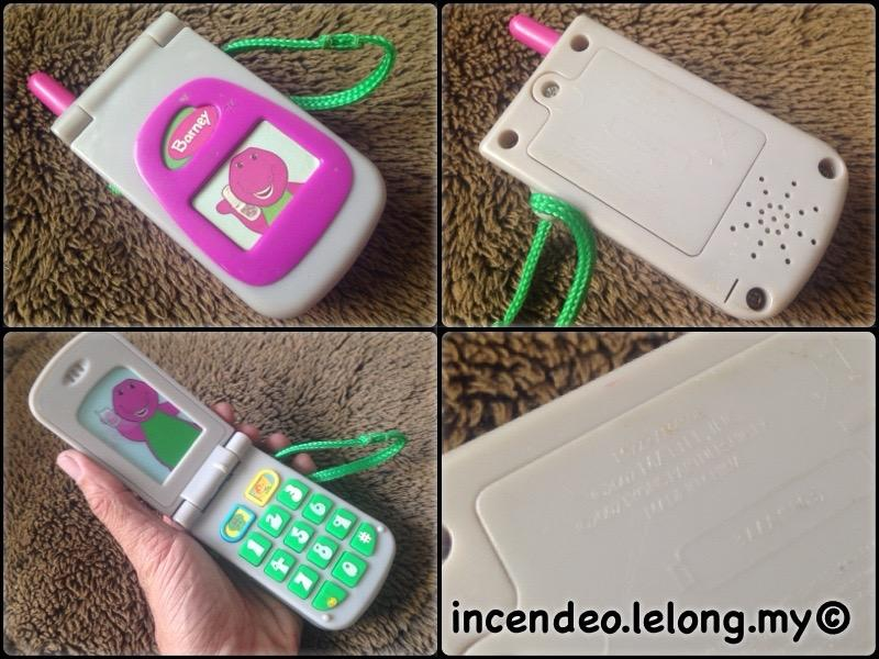 **incendeo** - MATTEL Barney Mobile Phone for Toddlers