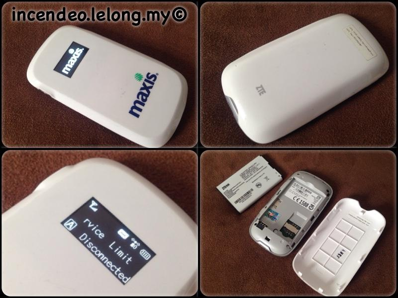 **incendeo** - maxis 3G Wireless Mobile Hotspot MF60