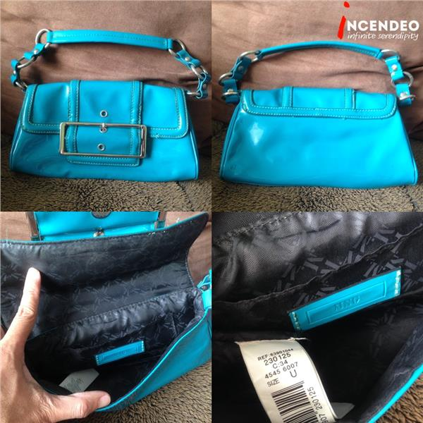 **incendeo** - MNG Blue Handbag for Ladies