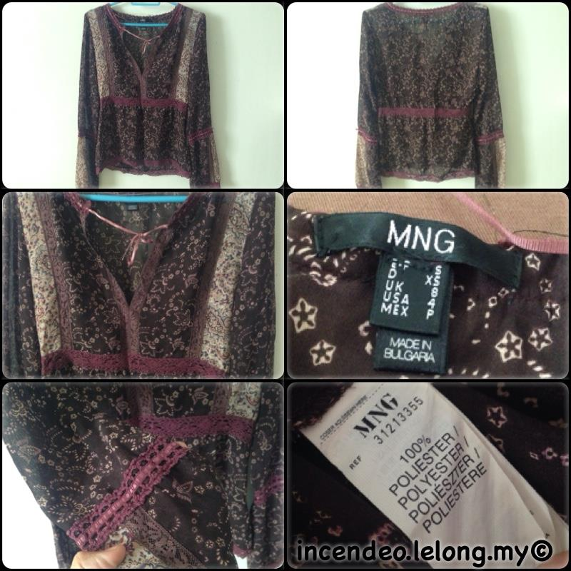 **incendeo** - MNG Classic Brown Top for Ladies