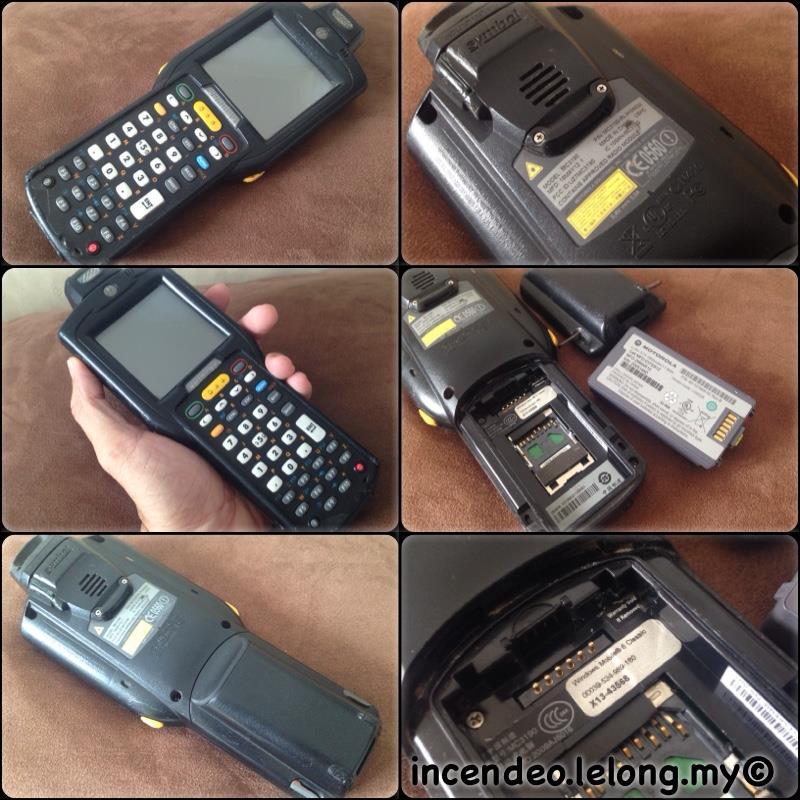 **incendeo** - MOTOROLA SYMBOL Handheld Windows Mobile Scanner MC3190