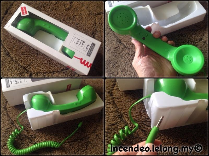 **incendeo** - MsPhone Green Phone Headset