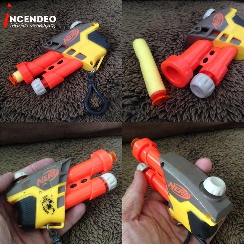 **incendeo** - NERF Air Shooter Keychain