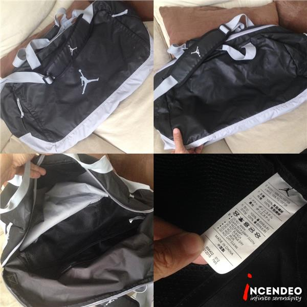 **incendeo** - NIKE Jordan Gym Duffel Bag