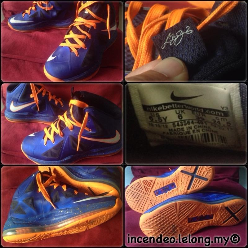 new arrival 5e7ab 72305   incendeo   - NIKE LeBron 10 P.S. E (end 7 17 2019 1 57 PM)