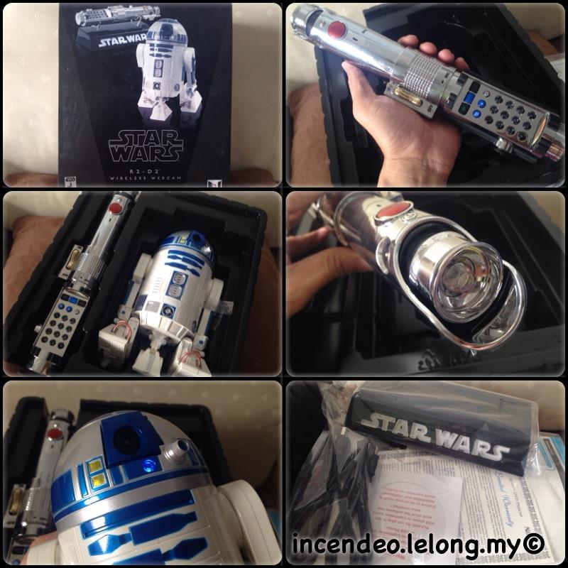 **incendeo** - NIKKO Lucasfilm Star Wars R2-D2 Wireless Webcam