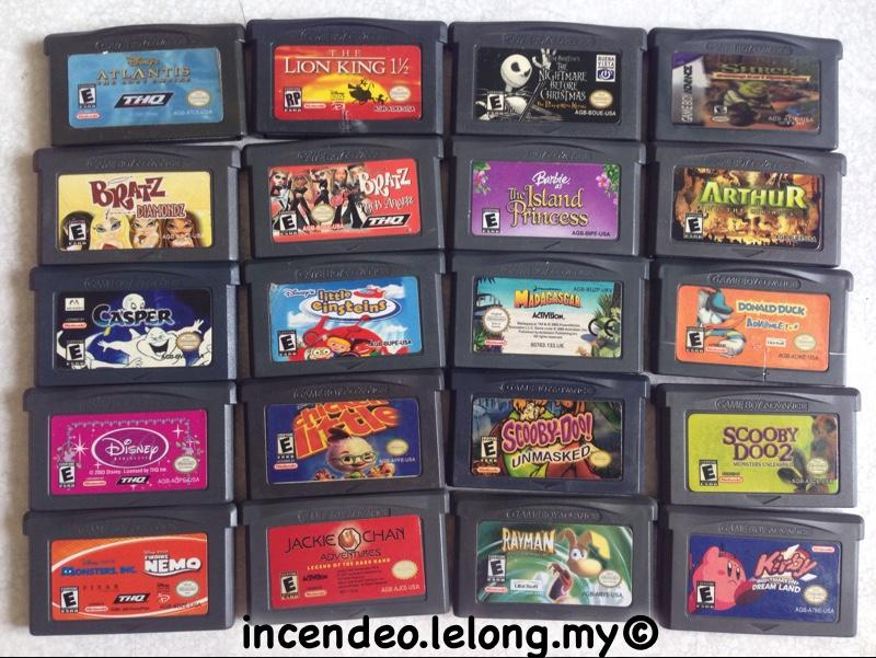 **incendeo** - Nintendo Game Boy Advance Game Cartridge #3