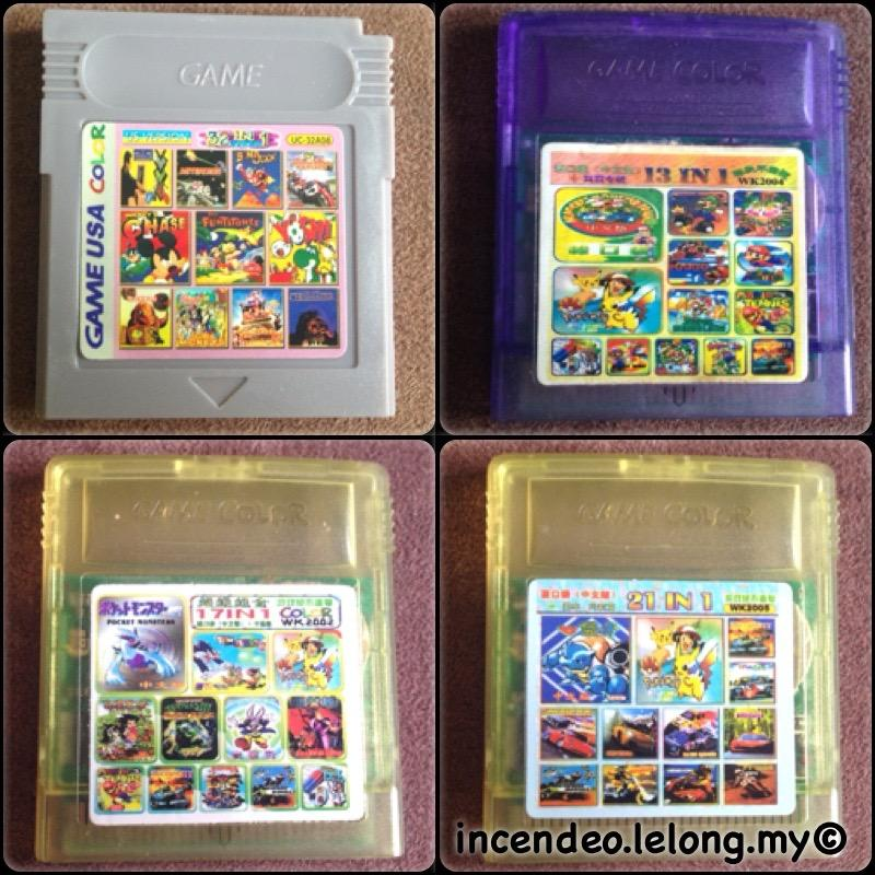 **incendeo** - NINTENDO Game Boy Color Multi Games Cartridge