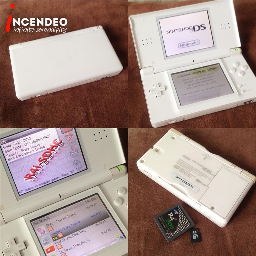 **incendeo** - Nintendo NDS Lite Handheld Game Console