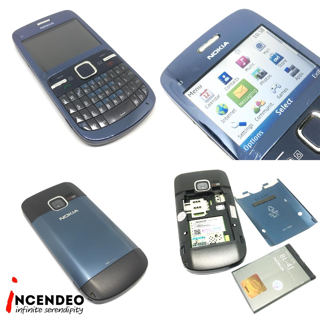 Incendeo Nokia C3 Mobile Phone End 1 17 2021 3 19 Am