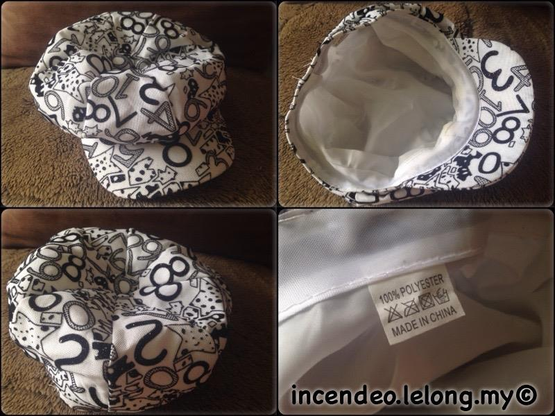 **incendeo** - Number White Stylish Cap for Ladies