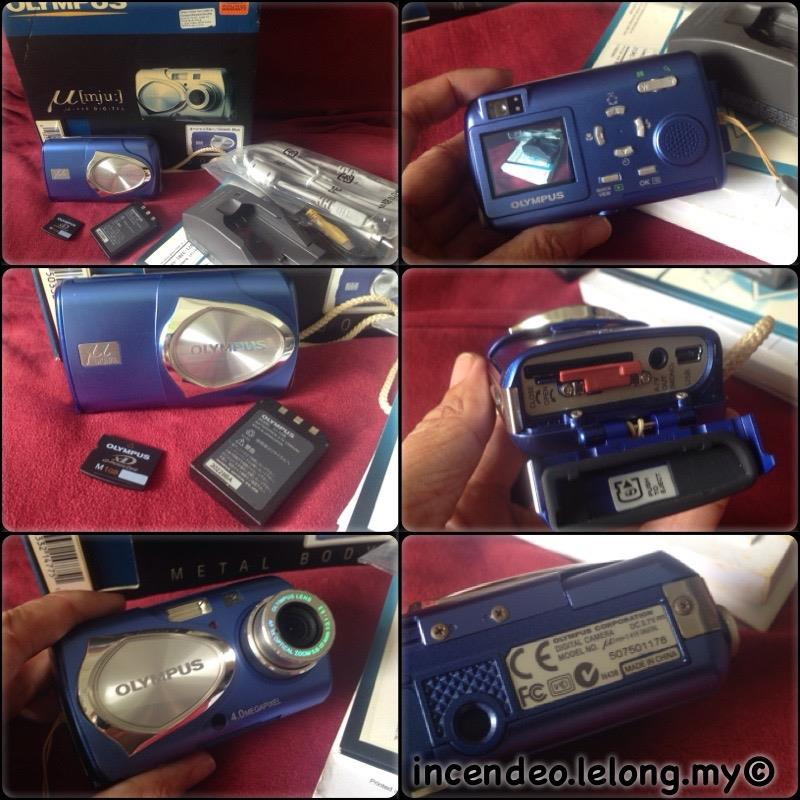 **incendeo** - OLYMPUS Weather Proof Digital Camera mju-410 Blue