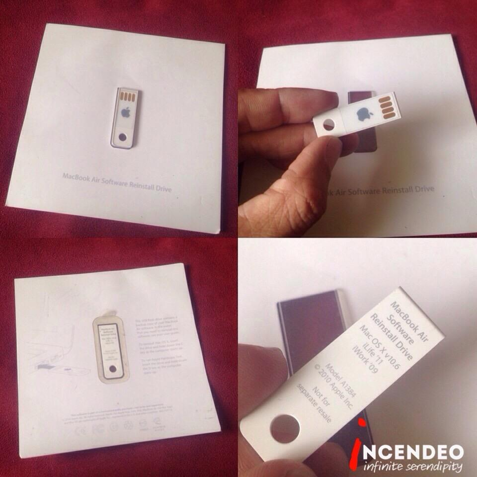 **incendeo** - Original APPLE MacBook Air Software Reinstall USB Drive