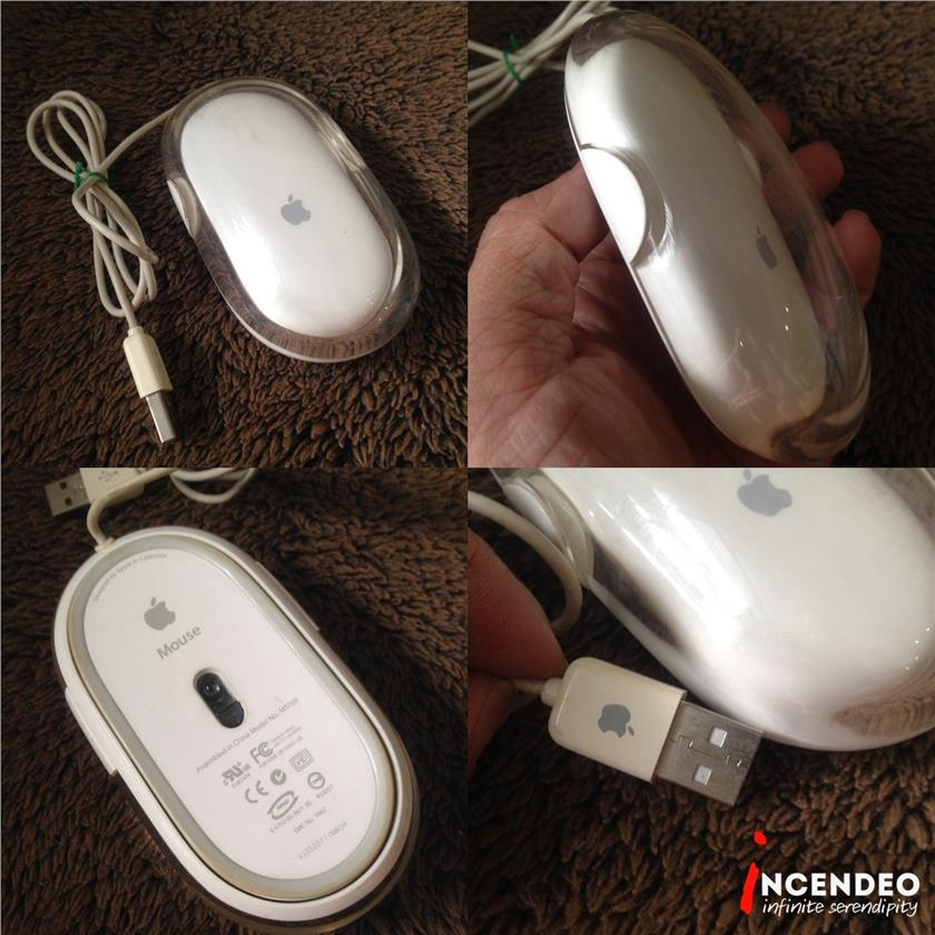 **incendeo** - Original APPLE Wired USB Pro Mouse M5769