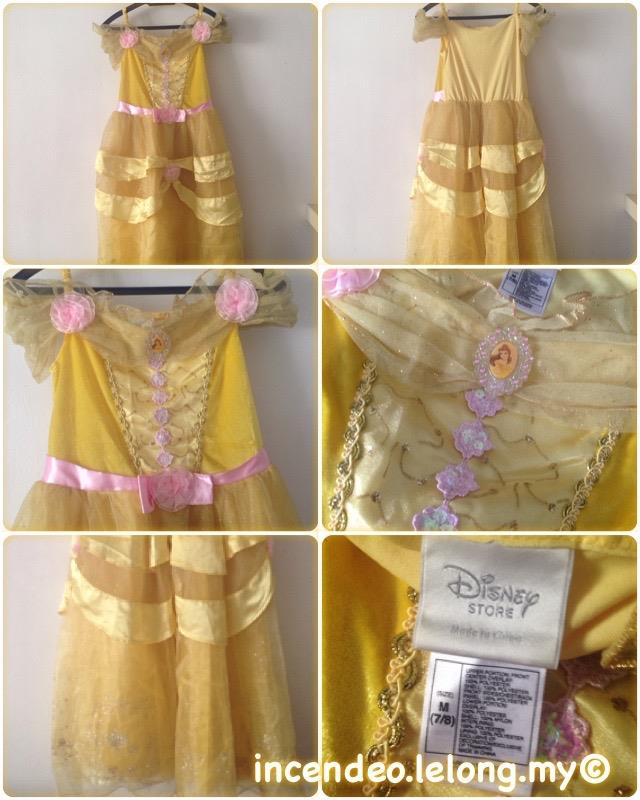 **incendeo** - Original Disney Store Belle Princess Costume
