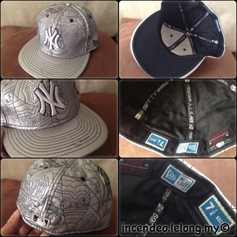 **incendeo** - Original New Era 59FIFTY NY Silver Cap