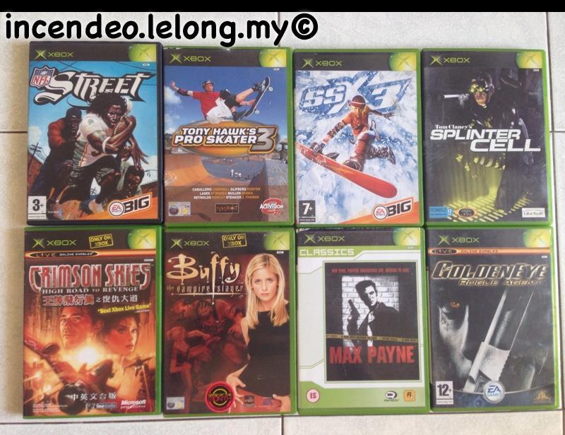 Original Xbox Game Ship : Incendeo original games for m end  pm