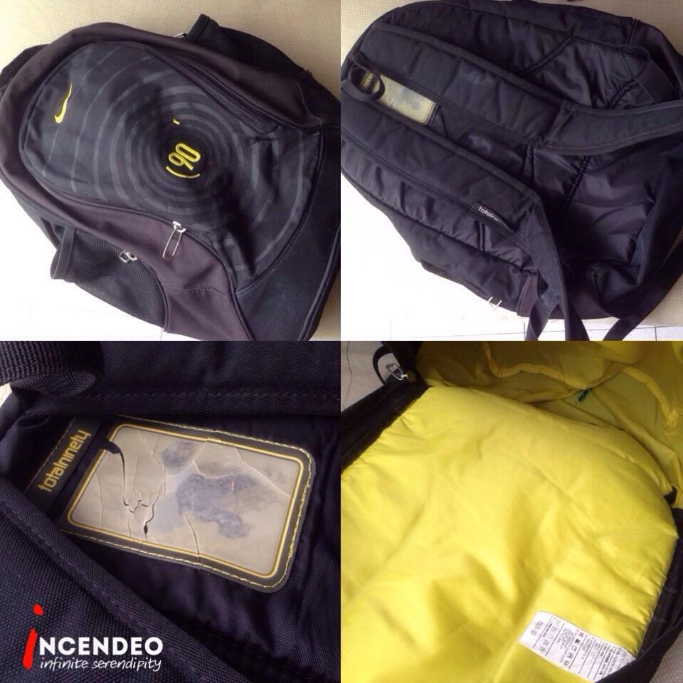 **incendeo** - Original NIKE TotalNinety Backpack