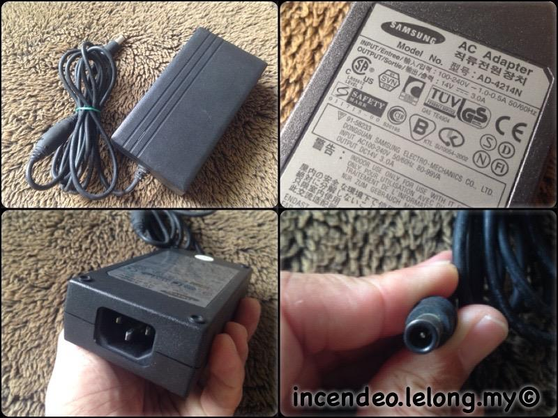 **incendeo** - Original Samsung 14V 3.0A Power Adapter AD-4214N