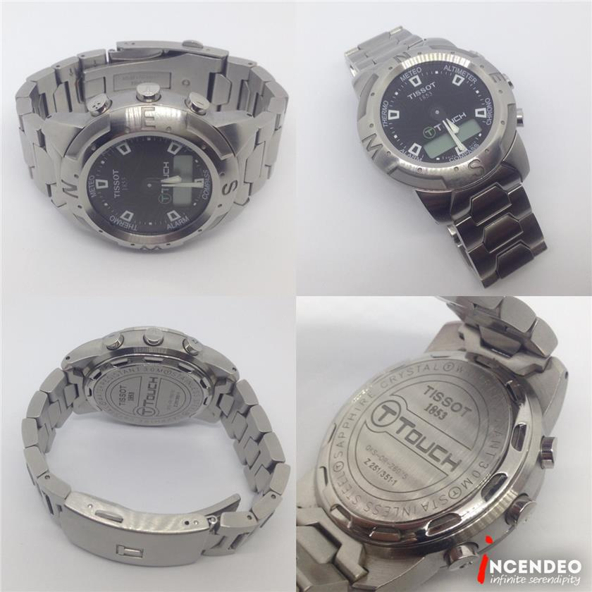**incendeo** - Original TISSOT T-Touch Stainless Steel Watch