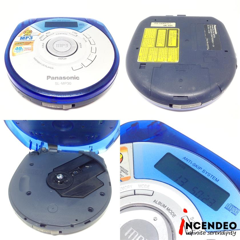 **incendeo** - Panasonic Portable CD Player SL-MP30
