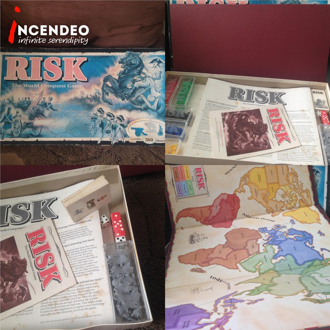 **incendeo** - Parker Brothers RISK Board Game (1993)