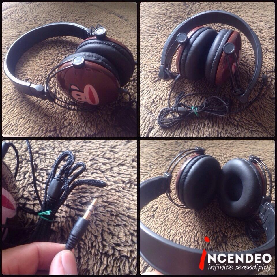 **incendeo** - PF Monkey Brown Stereo Headphones