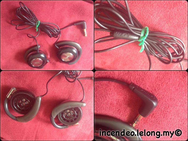 **incendeo** - PHILIPS Clip-On Stereo Headphones SHS4700