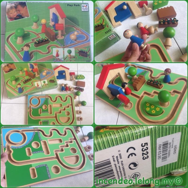 **incendeo** - Plan Toys Wooden Play Park Set for Kids