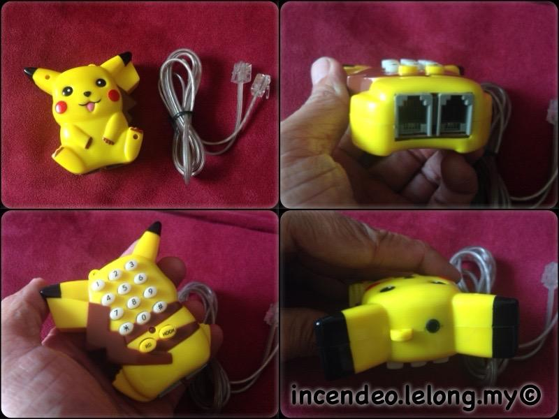**incendeo** - POKEMON Pikachu Mini Handheld Telephone