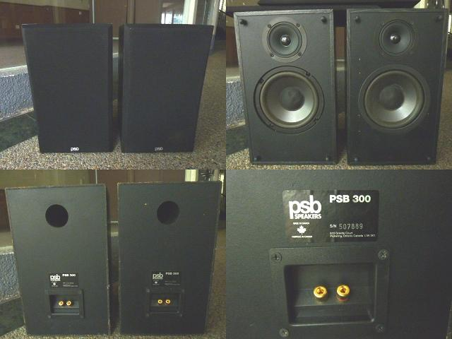 **Incendeo** - psb Canada Bookshelf Speakers PSB-300 (One Pair)