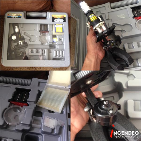 **incendeo** - RADIOSHACK Microscope Set