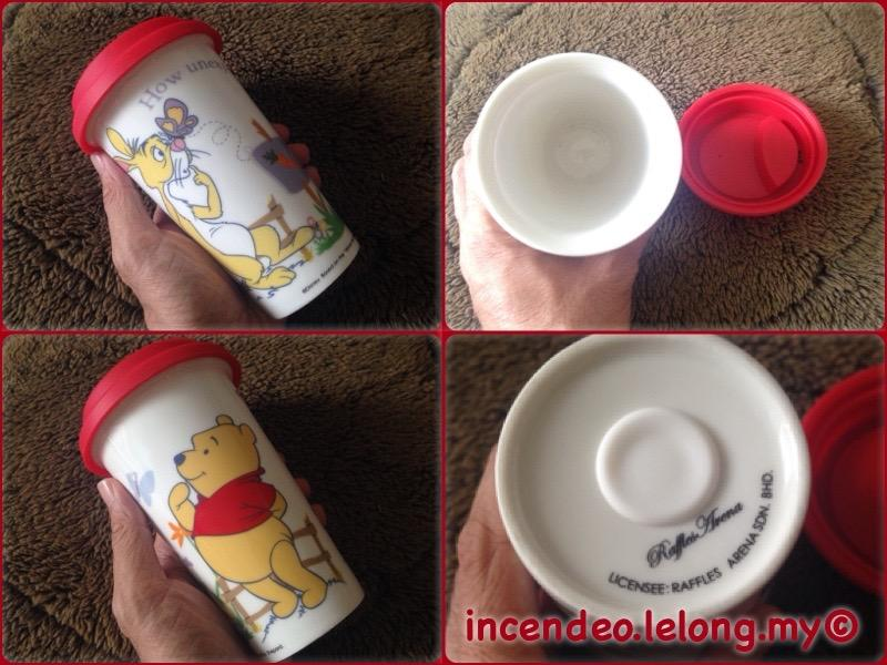 **incendeo** - Raffles Arena Disney Winnie The Pooh Porcelain Cup