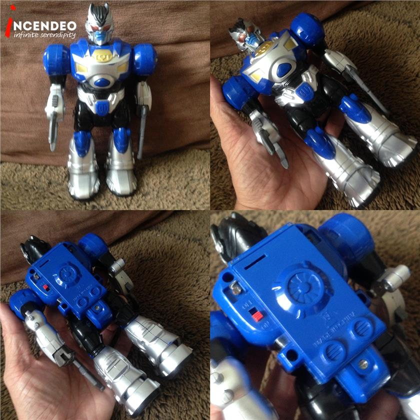**incendeo** - ROBOT Action Figures Toys for Kids