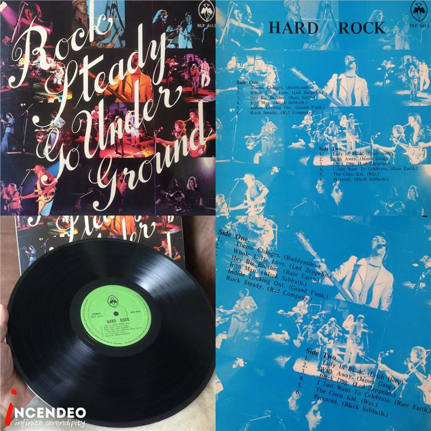 **incendeo** - Rock Steady Go Underground Collectible Vinyl LP Record