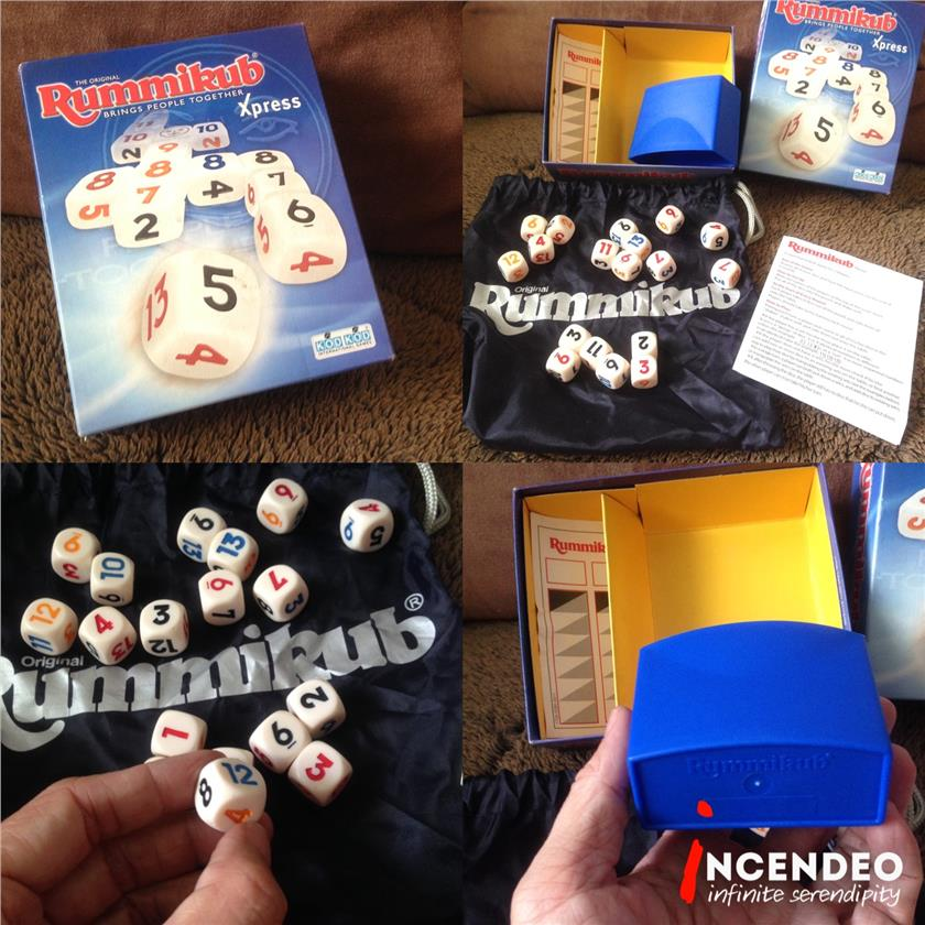 **incendeo** - Rummikub Xpress Game Set